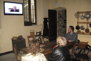 allestimento multimediale dedicato alle culture dell'alimentazione