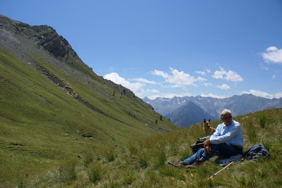 alpeggio estivo della Montagnetta in alta Valle Stura
