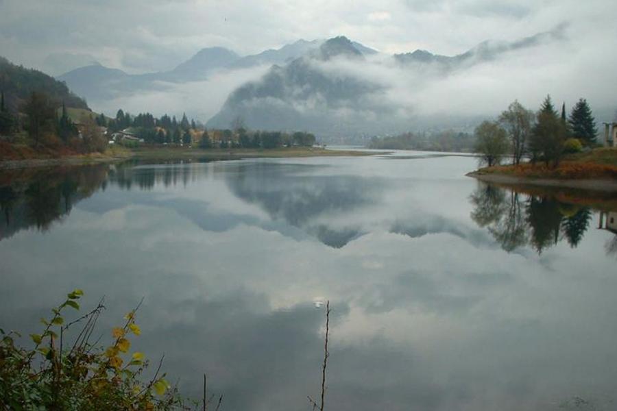 autunno sul lago d'Idro