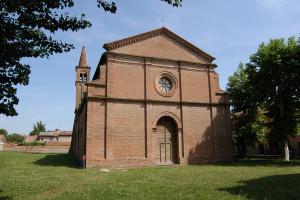 chiesa di San Domenico oggi Museo civico di Argenta