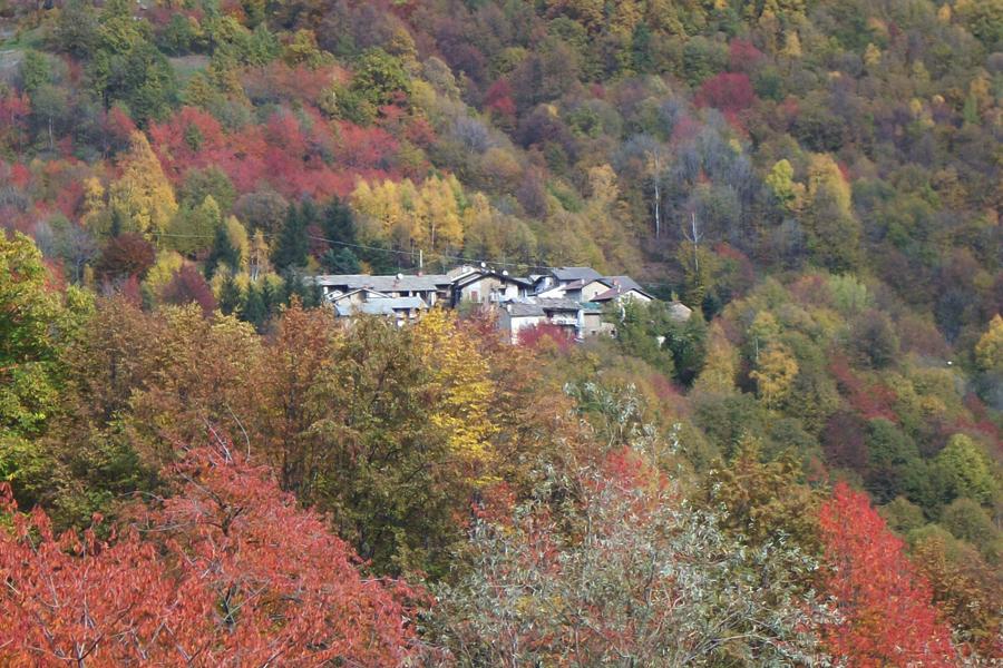 paesaggio autunnale in Alta Val Sangone