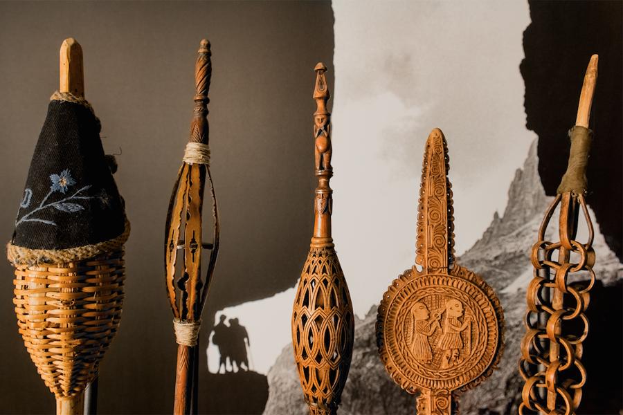 rocche della collezione Mazzotti [foto Francesco De Melis]