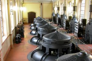 sala pompe del Museo della bonifica